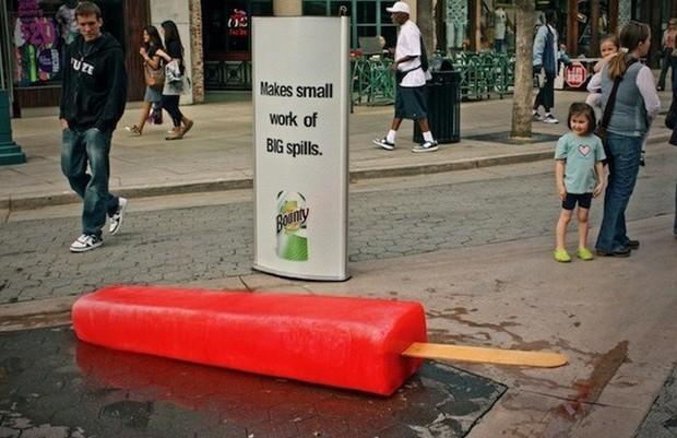 Những biển quảng cáo đường phố xứng đáng được gọi là tác phẩm nghệ thuật sắp đặt - Ảnh 6.
