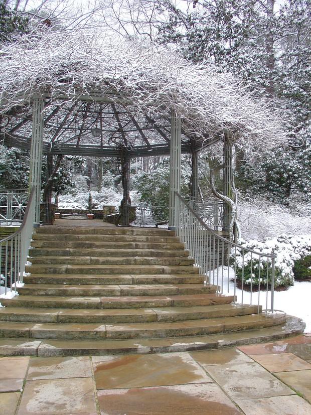 Đã mắt ngắm ngôi trường Đại học đẹp như lâu đài cổ tích dưới trời tuyết trắng xóa - Ảnh 13.