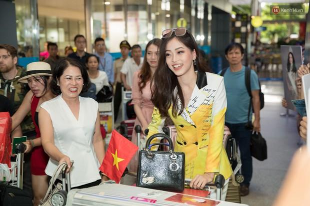 Hoa hậu Tiểu Vy ra tận sân bay đón Phương Nga trở về nước sau hành trình tại Miss Grand International 2018 - Ảnh 5.