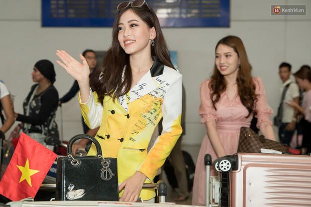 Hoa hậu Tiểu Vy ra tận sân bay đón Phương Nga trở về nước sau hành trình tại Miss Grand International 2018 - Ảnh 4.