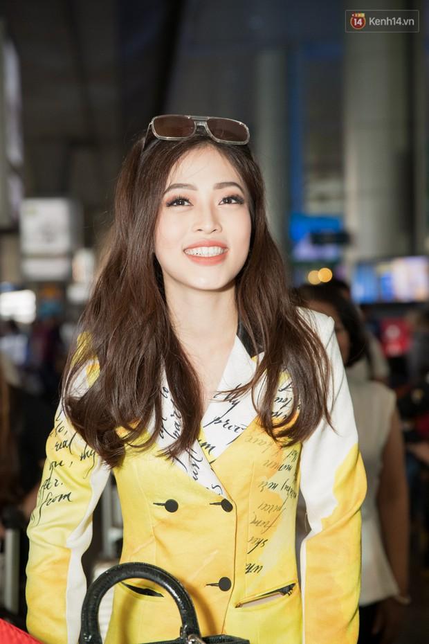 Hoa hậu Tiểu Vy ra tận sân bay đón Phương Nga trở về nước sau hành trình tại Miss Grand International 2018 - Ảnh 3.