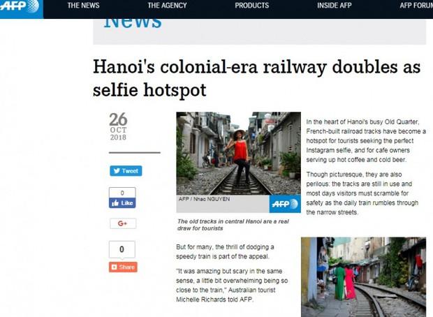 Tuyến đường sắt Hà Nội hot trên báo nước ngoài - Ảnh 6.