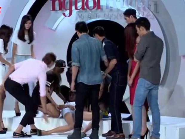 Không chỉ thi Hoa hậu, Next Top Model toàn thế giới cũng có nhiều ca ngất xỉu trên sóng truyền hình - Ảnh 7.