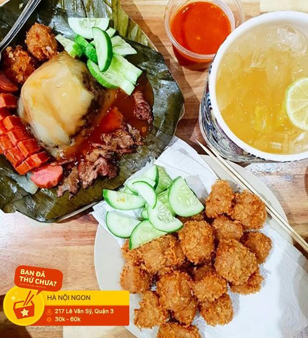 Ở Sài Gòn mà lỡ thèm những món ăn chơi Hà Nội thì nên đến đâu để gửi gắm nỗi lòng? - Ảnh 3.