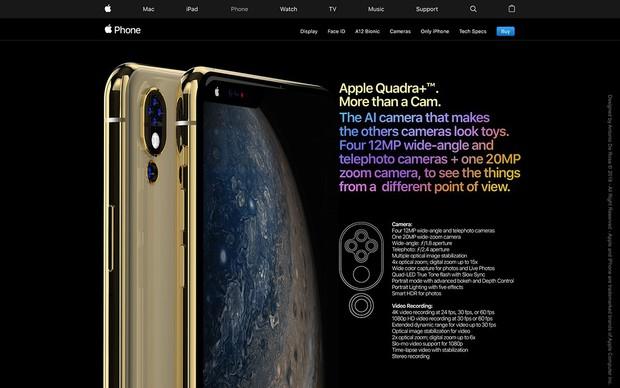iPhone XS còn chưa kịp nguội, iPhone 2019 lập tức debut bằng concept bao xịn miễn chê - Ảnh 6.
