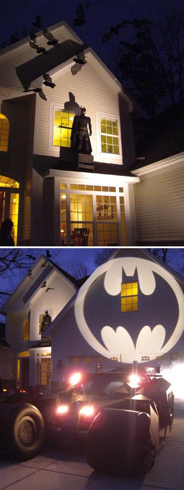20 cách trang trí nhà cửa dịp Halloween khiến bọn trẻ phải khóc thét khi đến xin kẹo - Ảnh 17.