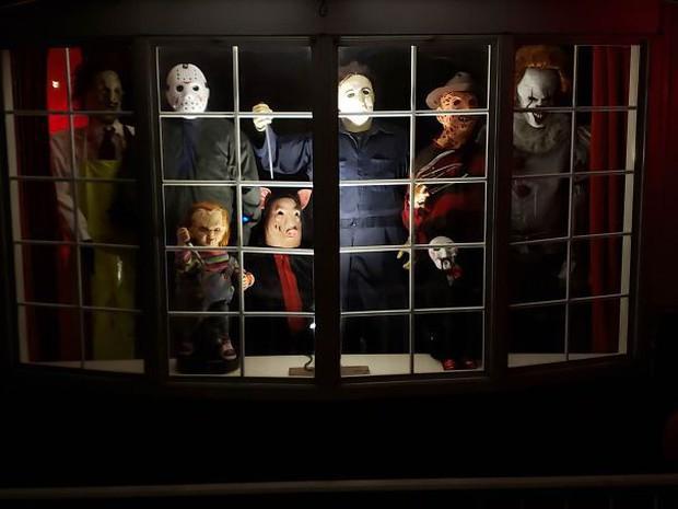 20 cách trang trí nhà cửa dịp Halloween khiến bọn trẻ phải khóc thét khi đến xin kẹo - Ảnh 20.