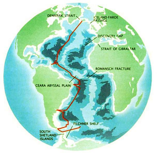 Thác nước ngầm trong lòng đại dương: Khổng lồ hơn cả Victoria - thác trên cạn lớn nhất thế giới - Ảnh 5.