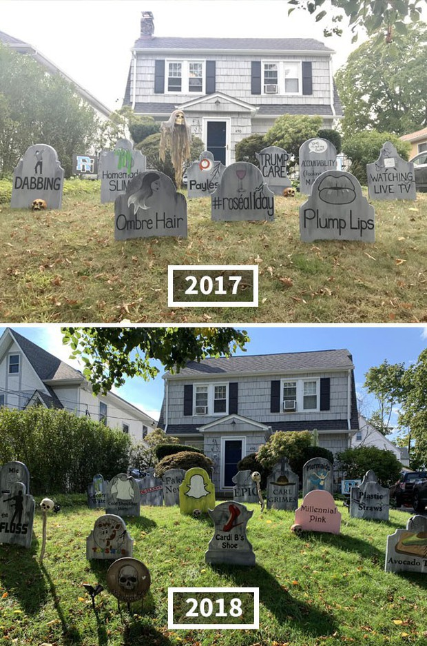 20 cách trang trí nhà cửa dịp Halloween khiến bọn trẻ phải khóc thét khi đến xin kẹo - Ảnh 9.