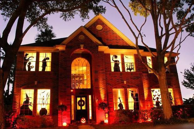 20 cách trang trí nhà cửa dịp Halloween khiến bọn trẻ phải khóc thét khi đến xin kẹo - Ảnh 10.