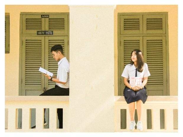Confession không thể ngôn tình hơn của cặp đôi đáng yêu trường chuyên Lê Hồng Phong - Ảnh 2.