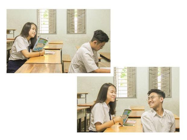 Confession không thể ngôn tình hơn của cặp đôi đáng yêu trường chuyên Lê Hồng Phong - Ảnh 4.