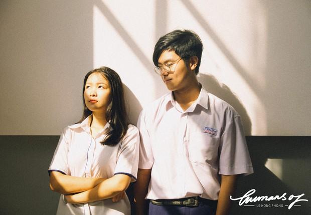 Confession không thể ngôn tình hơn của cặp đôi đáng yêu trường chuyên Lê Hồng Phong - Ảnh 1.