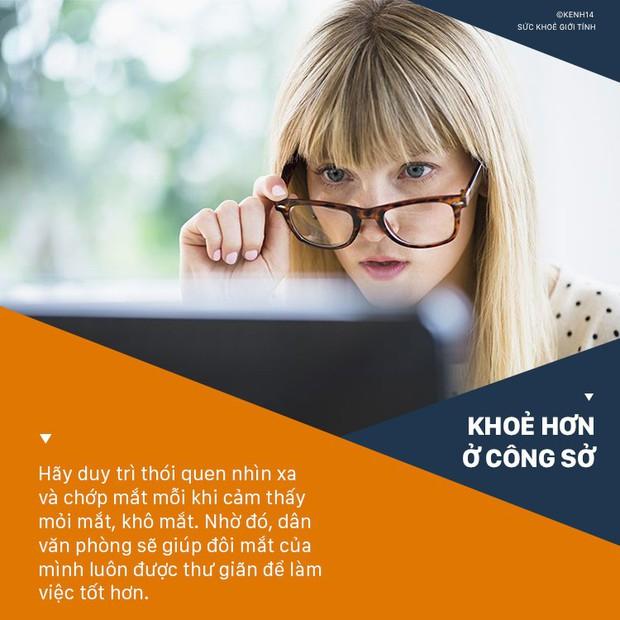 Duy trì 5 thói quen tuy nhỏ mà có võ này giúp dân văn phòng bảo vệ đôi mắt của mình tối ưu - Ảnh 1.