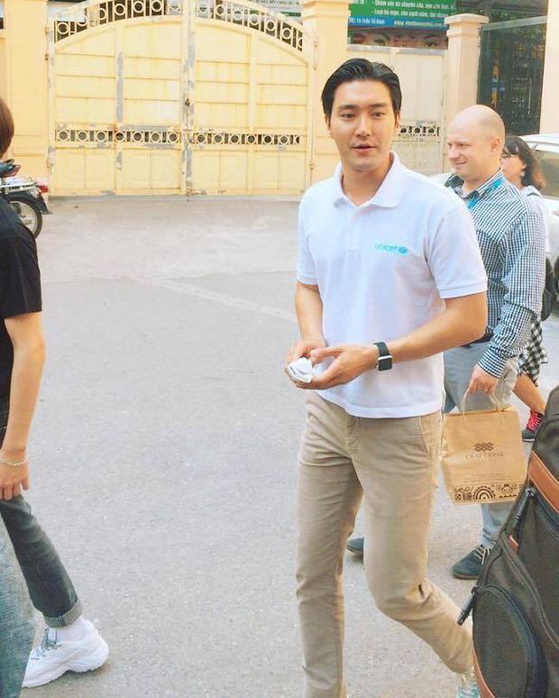Choi Siwon đang ở trường Cao đẳng Sư phạm Trung Ương Hà Nội - Ảnh 3.