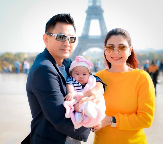 Thanh Thảo và ông xã đưa con gái chỉ mới 3 tháng tuổi đi du lịch châu Âu - Ảnh 1.