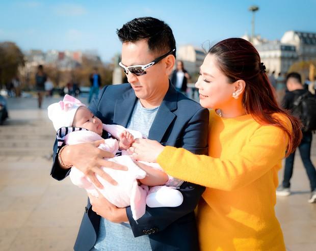 Thanh Thảo và ông xã đưa con gái chỉ mới 3 tháng tuổi đi du lịch châu Âu - Ảnh 4.