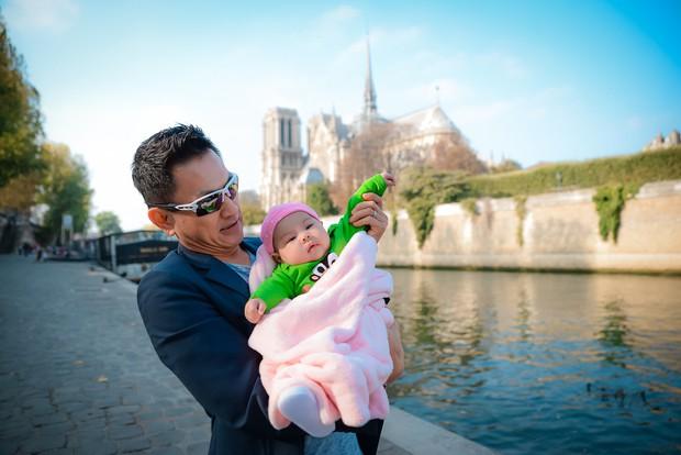 Thanh Thảo và ông xã đưa con gái chỉ mới 3 tháng tuổi đi du lịch châu Âu - Ảnh 9.