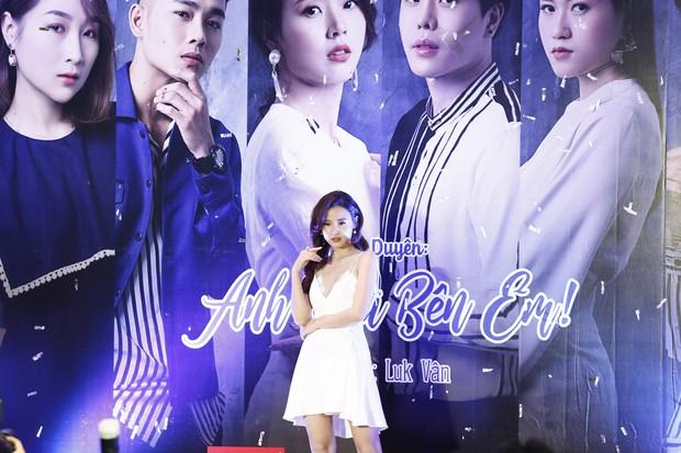 Midu đẹp rạng rỡ bên Trịnh Thăng Bình tại họp báo ra mắt dự án phim đầu tay do MC Quỳnh Chi sản xuất - Ảnh 1.