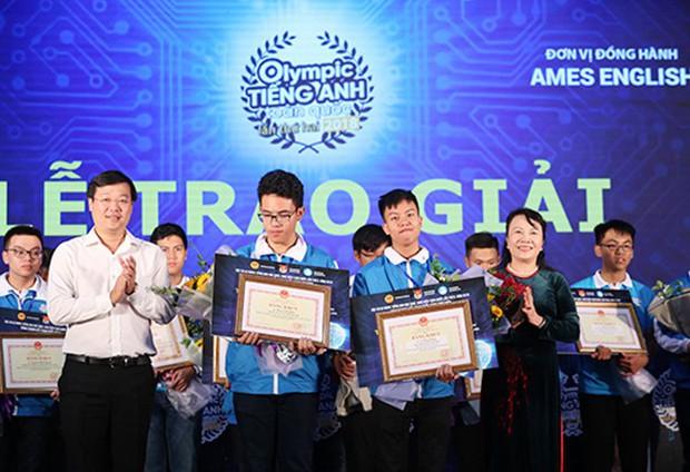 Nam sinh Học viện An ninh giành giải Nhất Olympic tiếng Anh sinh viên toàn quốc - Ảnh 1.