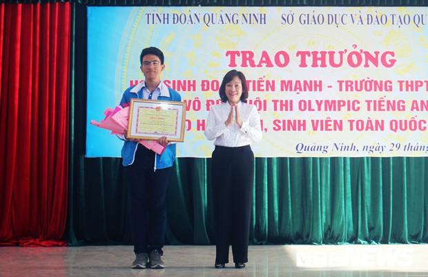 Nam sinh Học viện An ninh giành giải Nhất Olympic tiếng Anh sinh viên toàn quốc - Ảnh 2.