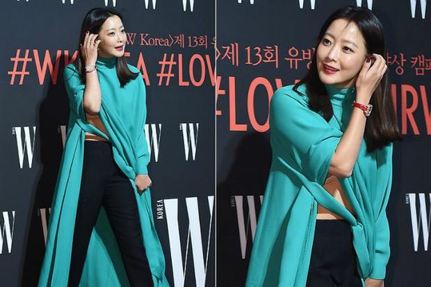 Nhan sắc trẻ trung bất chấp tuổi 41 của Kim Hee Sun cũng không thể cứu vãn nổi ca mặc khó hiểu, kém duyên này - Ảnh 5.