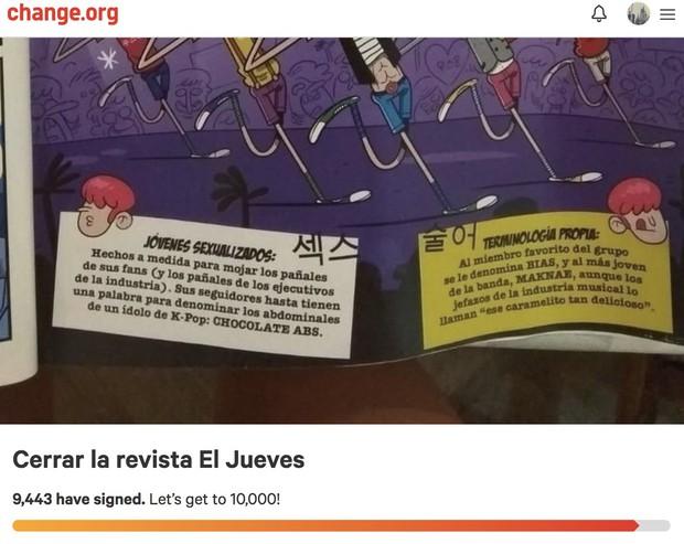 Mỉa mai vụ Jonghyun tự tử và công kích mặt tối của Kpop, tạp chí Tây Ban Nha bị gần 10.000 người kiến nghị đóng cửa - Ảnh 5.