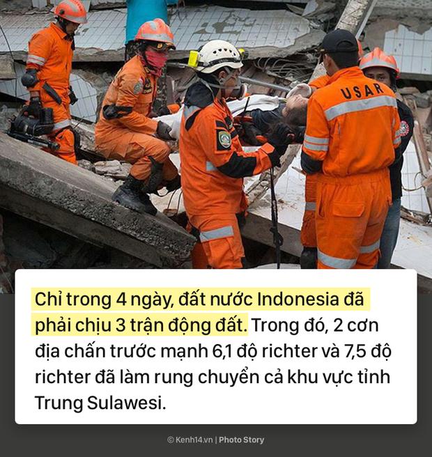 Indonesia: Toàn cảnh thảm họa kép động đất sóng thần tàn phá Indonesia - Ảnh 3.