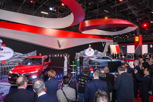 VinFast được tổ chức về ô tô hàng đầu châu Âu trao giải Ngôi sao mới tại Paris Motor Show 2018 - Ảnh 3.