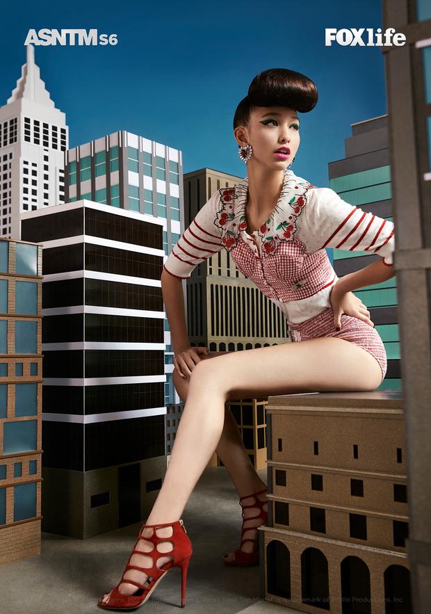 Next Top châu Á: Rima Thanh Vy ra về ngay thử thách đánh trúng nhược điểm ngoại hình - Ảnh 5.