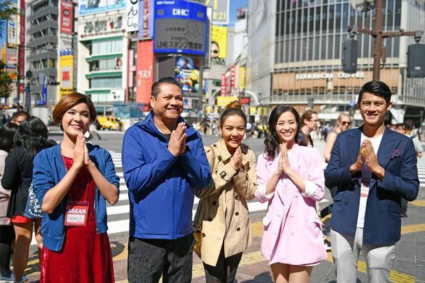 Đông Nhi hào hứng học làm sushi, cùng nghệ sĩ các nước ASEAN khám phá Nhật Bản - Ảnh 2.