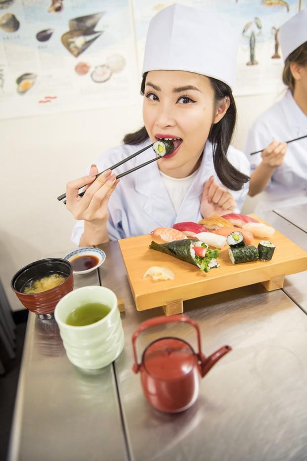Đông Nhi hào hứng học làm sushi, cùng nghệ sĩ các nước ASEAN khám phá Nhật Bản - Ảnh 15.