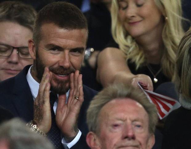 Sau sự kiện của VinFast, Beckham ngồi trầm ngâm xem đội bóng cũ MU buôn thuốc ngủ - Ảnh 4.