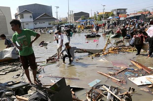 """Động đất sóng thần ở Indonesia: Lời kể xót xa của một """"người hùng"""" - Ảnh 1."""