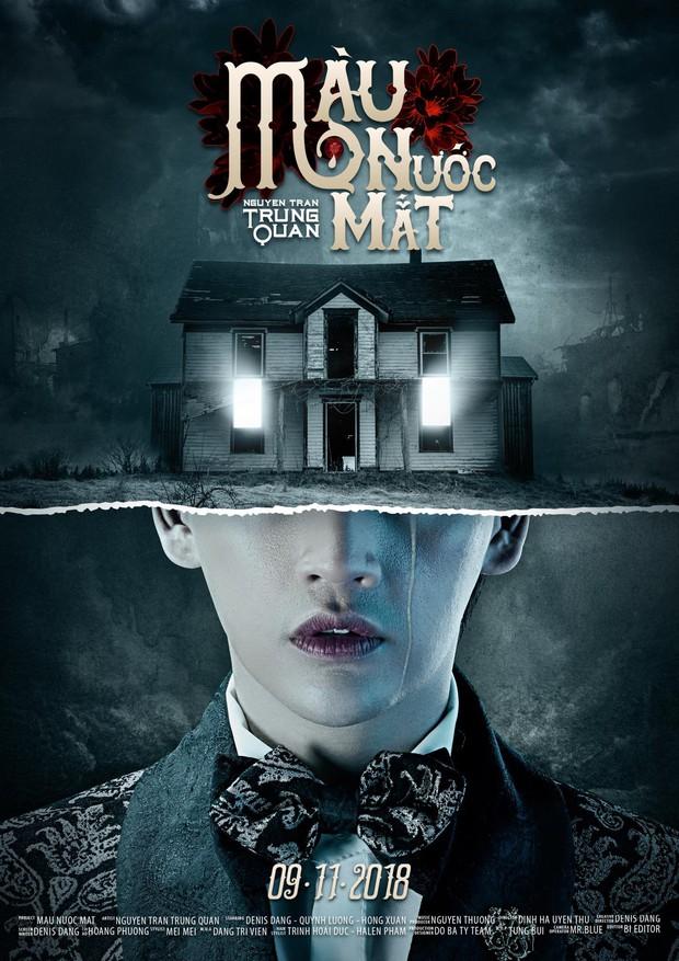 Phim The Haunting Of Hill House đang hot, Nguyễn Trần Trung Quân nhanh như một cơn gió đã tung poster cho MV có sự tương đồng không-hề-nhẹ - Ảnh 3.
