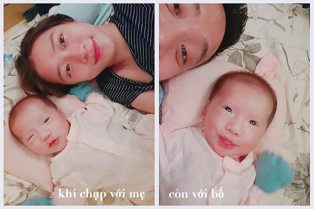 Loạt biểu cảm đưa con gái 20 ngày tuổi của JustaTee lên hàng ngôi sao meme mới của MXH - Ảnh 3.