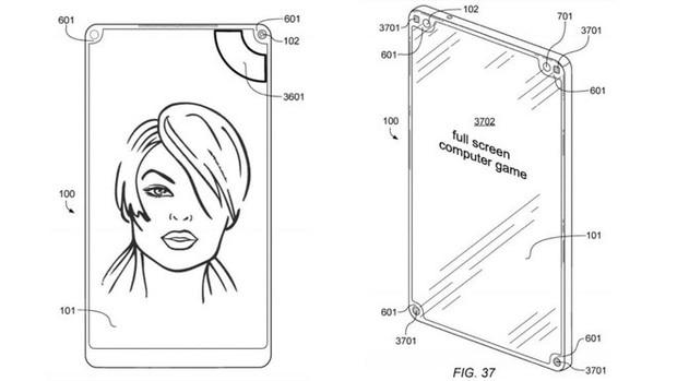 Một nốt ruồi hay một tai thỏ chưa là gì, kỹ sư người Đức này vừa đệ trình sáng chế smartphone với 4 nốt ruồi nằm ở 4 góc - Ảnh 1.