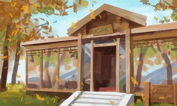 Bộ tranh mùa thu đẹp lãng mạn đến xiêu lòng về ngôi trường được xem là lò đào tạo minh tinh hàng đầu Châu Á - Ảnh 8.
