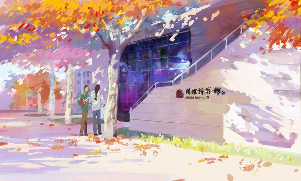 Bộ tranh mùa thu đẹp lãng mạn đến xiêu lòng về ngôi trường được xem là lò đào tạo minh tinh hàng đầu Châu Á - Ảnh 12.