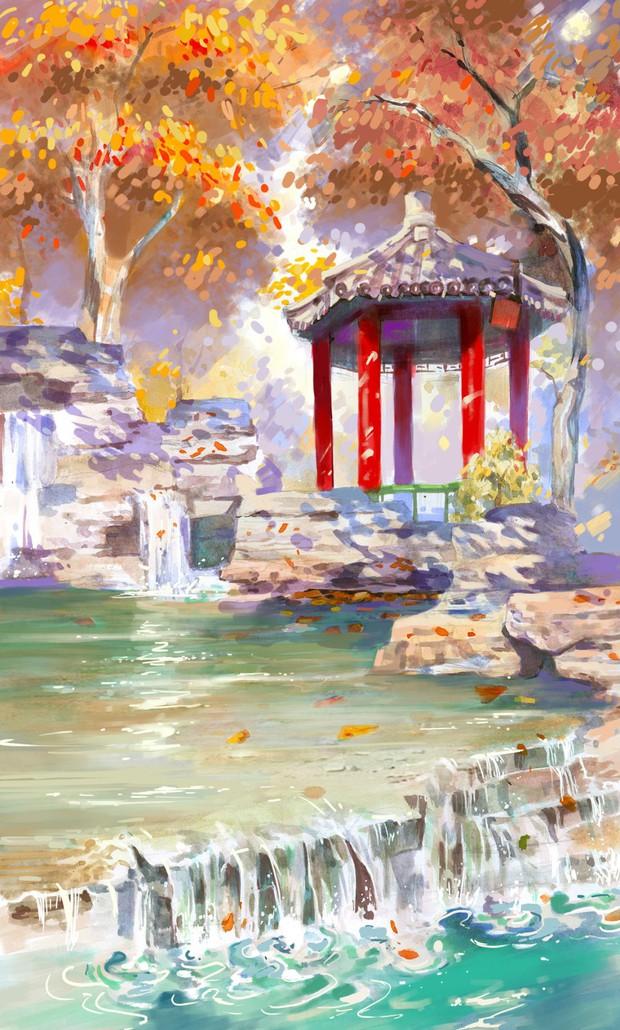 Bộ tranh mùa thu đẹp lãng mạn đến xiêu lòng về ngôi trường được xem là lò đào tạo minh tinh hàng đầu Châu Á - Ảnh 13.