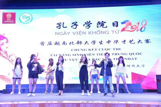 Báo Trung Quốc đồng loạt đưa tin về cuộc thi tài năng sinh viên tiếng Trung tổ chức tại Đại học Hà Nội - Ảnh 5.
