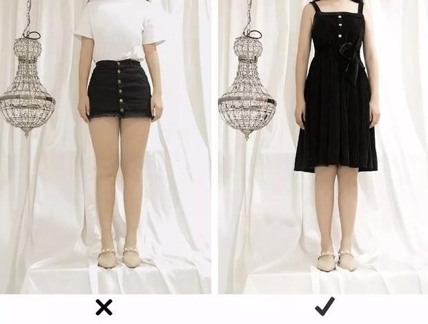 """Đùi to hay chân cong không còn đáng sợ nếu bạn biết bí kíp chọn kiểu váy """"nịnh dáng"""" nhất - Ảnh 2."""