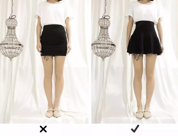 """Đùi to hay chân cong không còn đáng sợ nếu bạn biết bí kíp chọn kiểu váy """"nịnh dáng"""" nhất - Ảnh 6."""