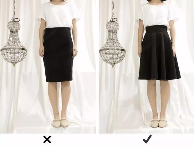 """Đùi to hay chân cong không còn đáng sợ nếu bạn biết bí kíp chọn kiểu váy """"nịnh dáng"""" nhất - Ảnh 7."""