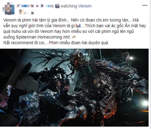 Khán giả Việt: Venom không tệ như những gì giới phê bình vùi dập - Ảnh 3.
