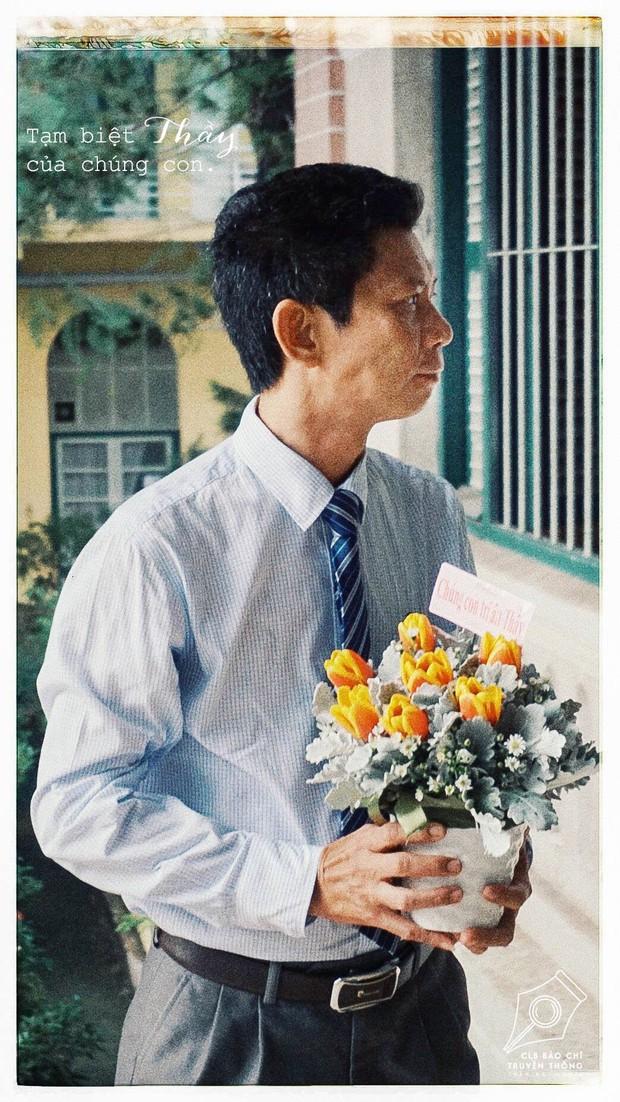Có một thầy hiệu trưởng đã khiến cả trường chuyên Trần Đại Nghĩa bật khóc khi chuyển công tác - Ảnh 4.