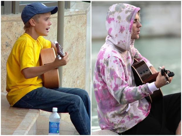 Justin Bieber ngày ấy - bây giờ: cùng ngồi giữa đường gảy đàn hát say sưa nhưng nhiều thứ đã khác xưa rồi - Ảnh 4.