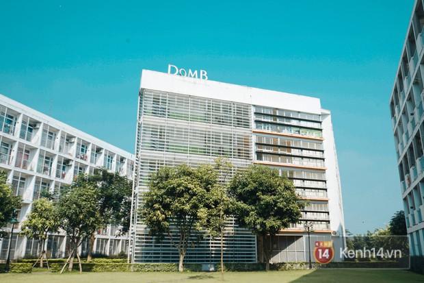 Ghé thăm ký túc xá đại học đẹp nhất nhì Việt Nam, nơi sinh viên hưởng cuộc sống chẳng khác gì ở khách sạn - Ảnh 1.