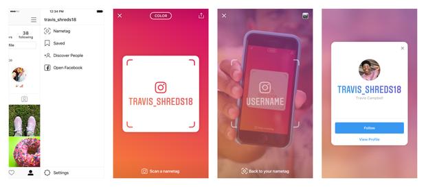 Instagram bất ngờ ra mắt Nametag giúp dễ tiếp cận làm quen và follow crush kiểu mới - Ảnh 1.