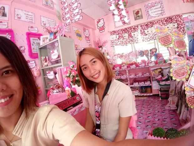 Cô giáo đáng yêu nhất quả đất: Dành 3 năm biến lớp học cũ kỹ thành căn phòng rợp màu hồng Hello Kitty - Ảnh 5.